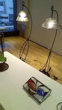 【りんごのひろば】ステンドグラス作品展&体験コーナー
