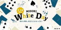ホワイトデーギフトは、MIDORI長野で。