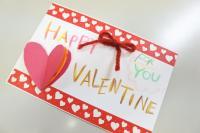 【りんごのひろば】想いをメッセージに♪~バレンタインメッセージカードワークショップ~