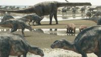 【りんごのひろば】NHK長野放送局主催 BS 8K受信公開&NHK恐竜超世界2019
