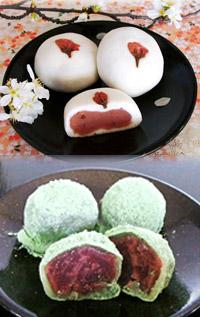 「春」の和菓子をご紹介