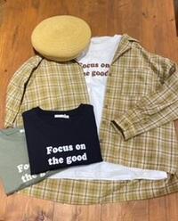 ehka sopo ロゴTシャツ