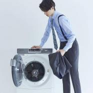 Tumble Dry 洗濯機でそのまま洗えるスーツ