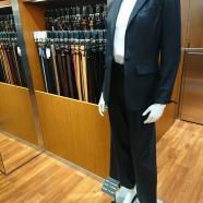 ワイドパンツスーツならスーツセレクトミドリ松本
