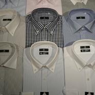 松本周辺で細身のワイシャツならスーツセレクトミドリ松本