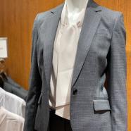 オシャレなレディーススーツならスーツセレクトミドリ松本