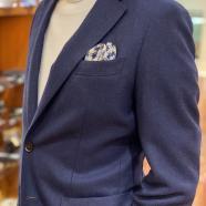 ネイビージャケットコーデならスーツセレクトミドリ松本