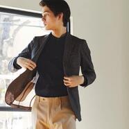 軽く涼しいジャケットならスーツセレクトミドリ松本