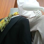 オンオフ使える半袖ブラウス、カットソー。スーツセレクトミドリ松本
