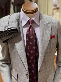 松本市でチェック柄スーツ買うならスーツセレクトミドリ松本