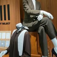【レディース新作セットアップ】スーツセレクトミドリ松本