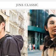 JINS CLASSIC この秋の新作はメタルフレームシリーズ!