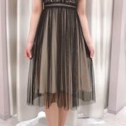 レース切り替えドレス⁎⁺˳✧༚