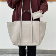 新作♡ソフトフェイクレザートートバッグ
