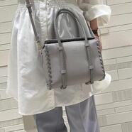 新作♡かがりデザインボックスバッグ