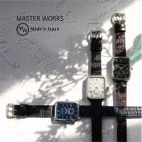 【MASTER WORKS】クラシカルで気品のあるスクエアケース入荷!