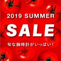 【旬な腕時計がお買い得!!】2019 SUMMER SALE!!
