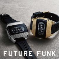【FUTURE FUNK】70年代のレトロフューチャーな時計!